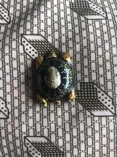 Wealth Fetching Turtle Thai Amulet