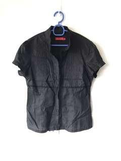 🚚 Elle Black Shirt