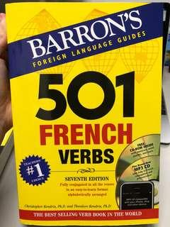 501 French Verbs (Barron's Foreign Language Guides) (Paperback + CD-ROM + )
