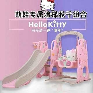 Hello kitty slid and swing