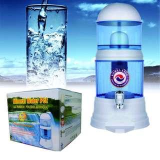 Penyaring Air Minum Spt Pure it New Mineral Water Pot 16 Liter Termurah
