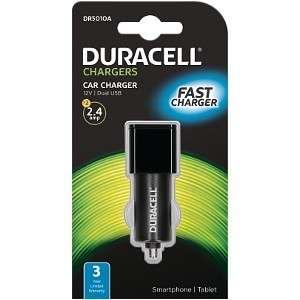 BN Duracell car charger 2.4A fast charge