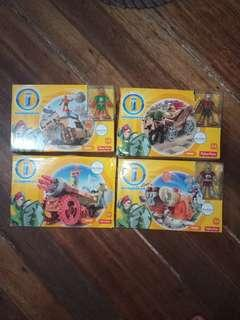 Fisher price imaginext action tech set