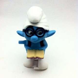 The Smurfs - Brainy Smurf wind up - Smurfs 2 - Happy Meal Mc Donald 2013