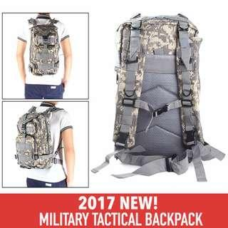 *IN STOCK* Military Tactical Backpack Haversack. Outdoor Camouflage Army Backpack Bag. Rucksack Bag for Outdoor, Trekking, Camping