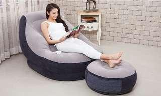INTEX68564 inflatable sofa single lazy couch foldable