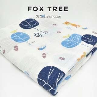 Muslin Swaddle (FOX TREE)
