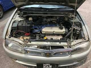 Wira 1.6 auto