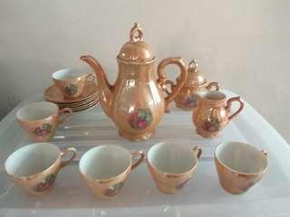 Old Japan tea pot cheap sales