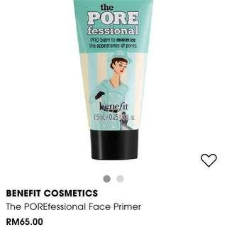 🆕Benefit Porefessional Face Primer