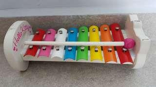 Hello Kitty Wooden Xylophone