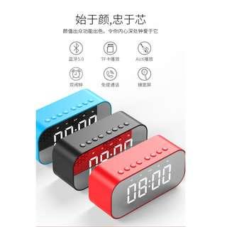 Wireless Bluetooth Alarm Clock & Speaker