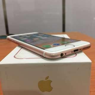 Iphone 6s 16gb Ex Inter Rosegold Bisa Tt