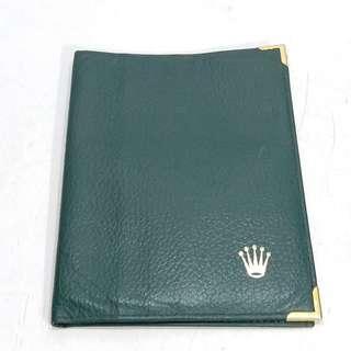 ROLEX Passport Holder 勞力士 護照套可作銀包