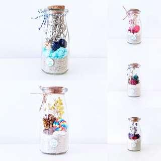 [SALE] Petite series - preserved flowers in a bottle