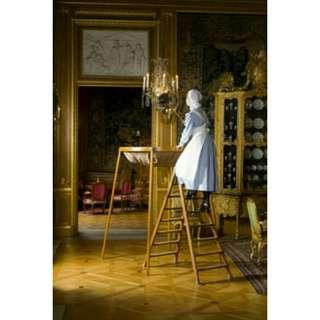 Lampu Gantung Antik Chandelier Abad 19 / Ukiran / Perkiraan Perunggu Bukan Besi