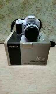 Pentax K-x+18-55 len kit