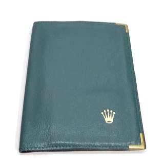 ROLEX Passport Holder 勞力士 謢照套 可作銀包