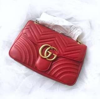 New gucci marmont sling bag
