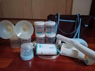 The first years double breast pump