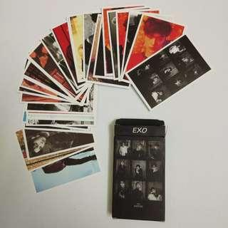 WTS EXO lomo card