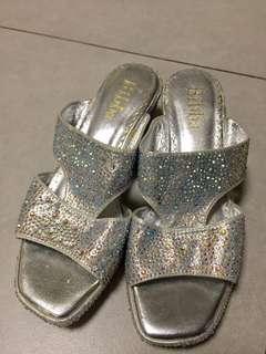 Bibba 女裝涼鞋 閃石水晶鞋