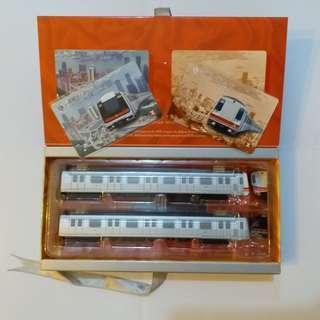 【興趣收藏】地鐵二十週年紀念車票(全套)