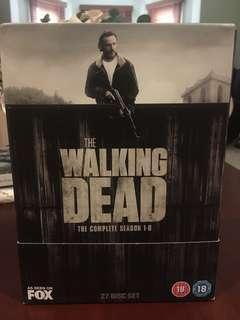 The Walking Dead seasons 1-6 (region 2)