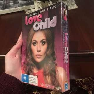 Love child seasons 1-2 brand new sealed