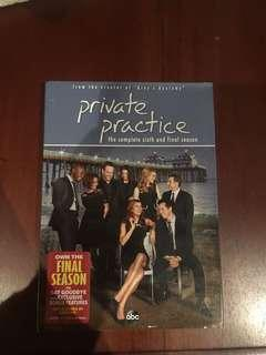 Private practice season 6 (region 1)