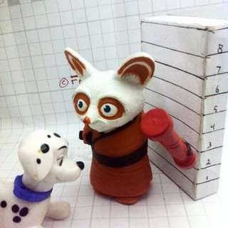 Kungfu Panda 1 - Master Shifu - Happy Meal Mc Donald