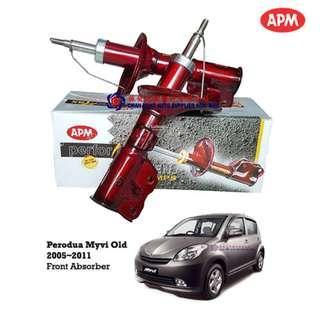 Perodua Myvi Old 2005~11 APM Performax Sport Shock Absorbers