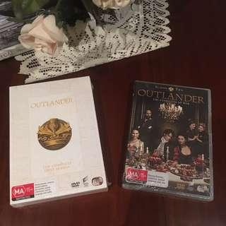 Brand new sealed Outlander season 1 and 2