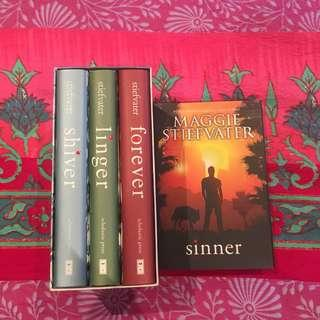 Hardcover Shiver series with Sinner