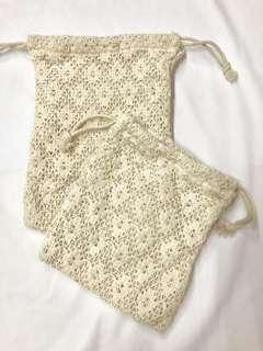 New Crochet pouch bags from Japan