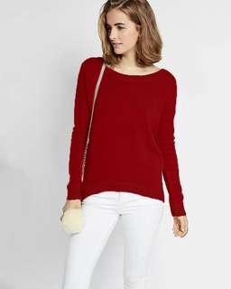 綁帶寬松顯瘦小性感女長袖上衣女毛衣Hollister HCO Abercrombie & Fitch top sweater AF A&F