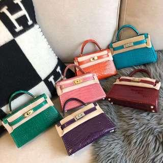Hermes kelly Alligator