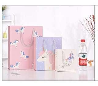 Unicorn Paper bag