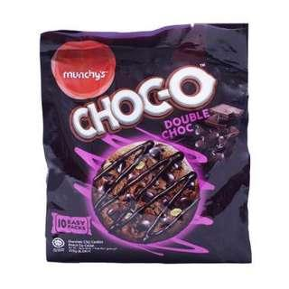 Munchy's Choc-O Double Chocolate Chip Cookies 235g