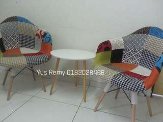 Full patchwork DAW armchair (preorder)
