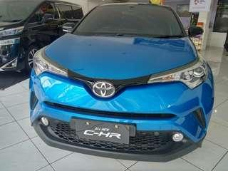 Ready Toyota CHR Blue and Black A/T