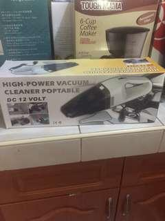 High power vacuum cleaner portable dc 12 volts