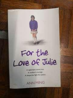 For The Love Of Julie by Ann Ming