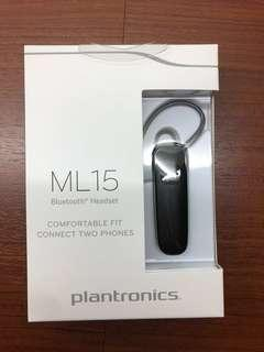 *SEALED* Plantronics' ML15 Bluetooth Headset