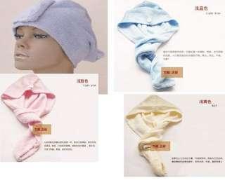 竹纖維乾髮巾