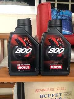 Motul800 2T oil
