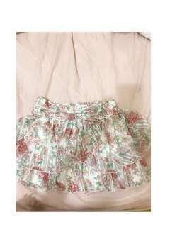 (0918專櫃)-全新 玫瑰花褲裙