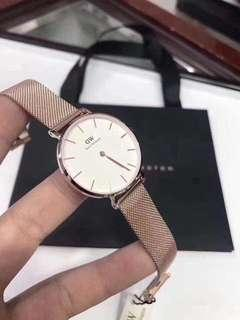 DANIEL WELLINGTON PETITE MELROSE AUTHENTIC WATCH