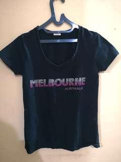 Kaos asli Melbourne Preloved