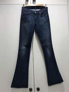 7 for All Mankind bootleg jeans